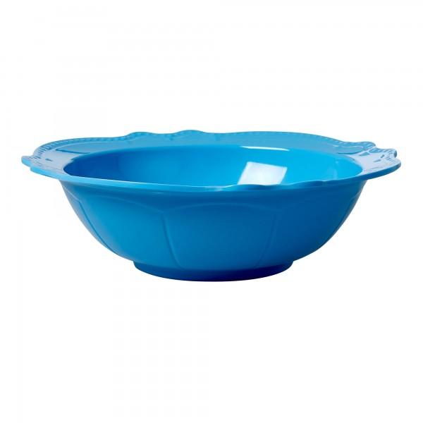 RICE Salatschüssel Blau