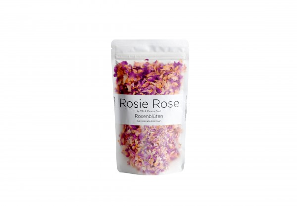 Rosie Rose Damascena Rosen | Getrocknete Rosenblütenblätter 25 g