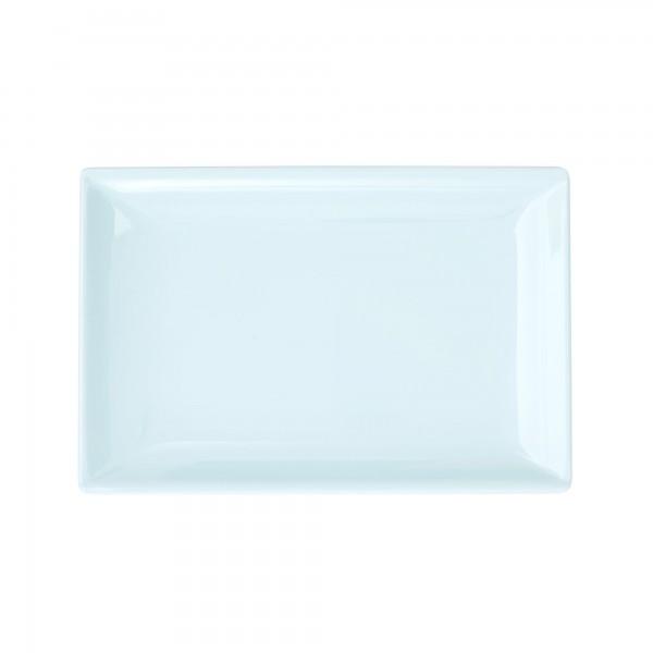 RICE Melami Sushi Tablett LIGHT BLUE Rectangular