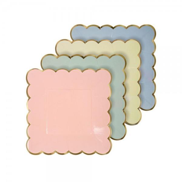 Meri Meri Pastell Pappteller 8 Stück