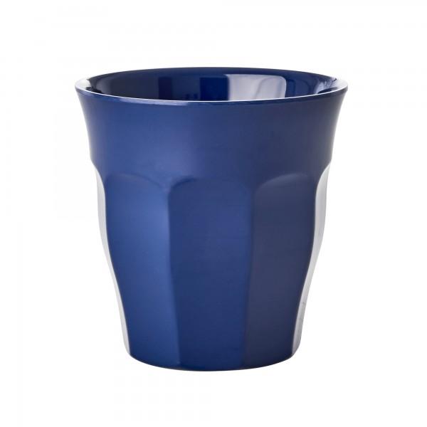 RICE Melamin Becher NAVY BLUE Medium