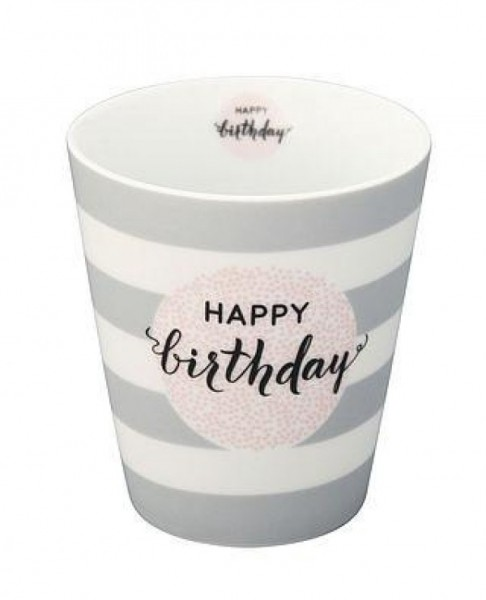 Krasilnikoff Happy Mug HAPPY BIRTHDAY