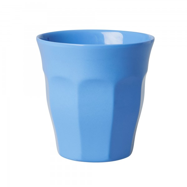 RICE Melamin Becher DUSTY BLUE Medium