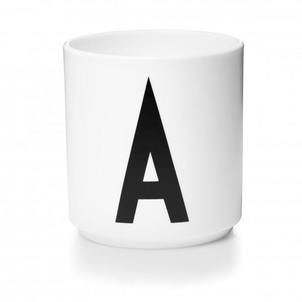 Design Letters Porzellanbecher weiß A