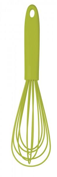 KitchenCraft Silikon Schneebesen Grün 26 cm