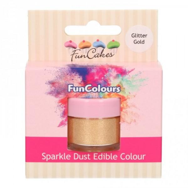 FunCakes Sparkle Dust GLITTER GOLD