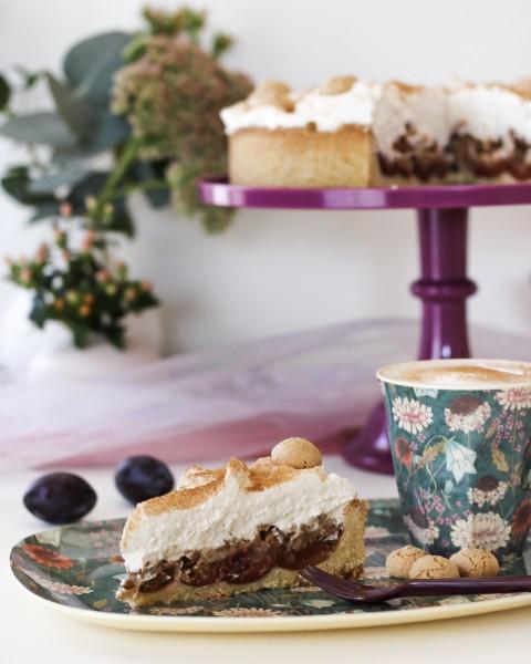 Zwetschgen-Amarettini-Kuchen