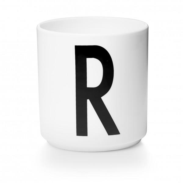 Design Letters Porzellanbecher weiß R