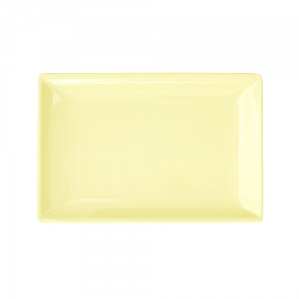 RICE Melamin Sushi Tablett YELLOW Rectangular