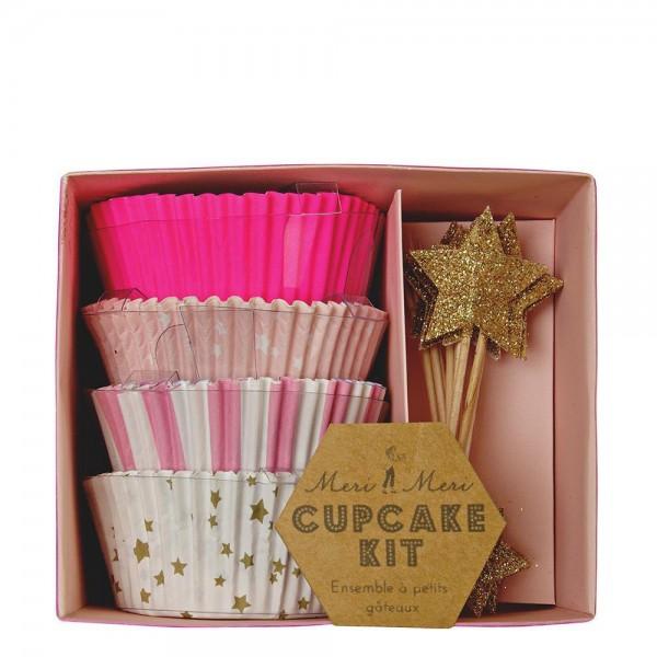 Meri Meri Pink Cupcake Set