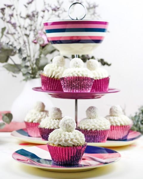 Himbeer-Kokos-Cupcakes
