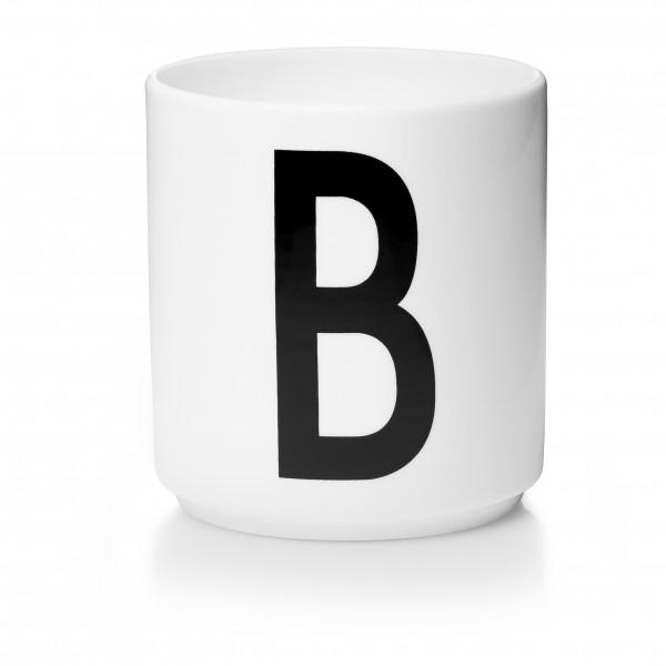 Design Letters Porzellanbecher weiß B