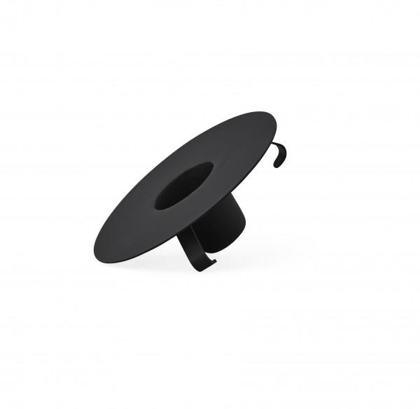 Design Letters Kerzenhalter schwarz