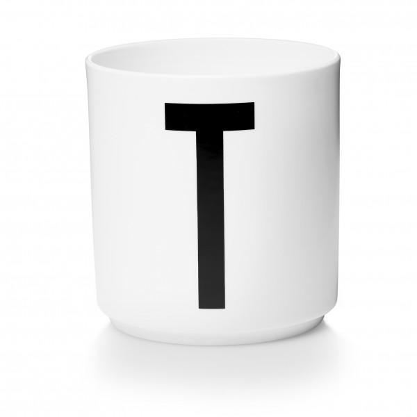 Design Letters Porzellanbecher weiß T