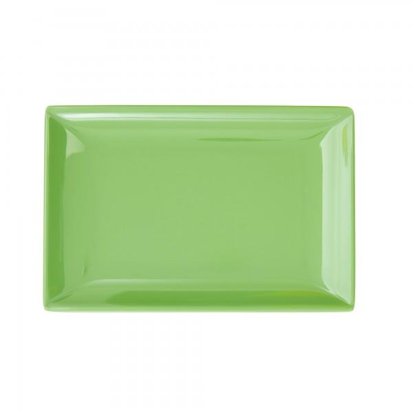 RICE Melamin Sushi Tablett GREEN Rectangular