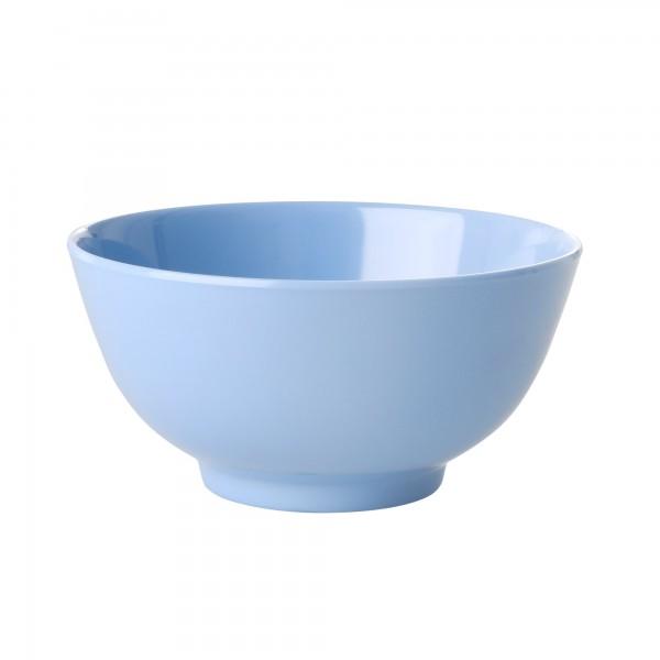 RICE Melamin Schüssel BLUE Medium