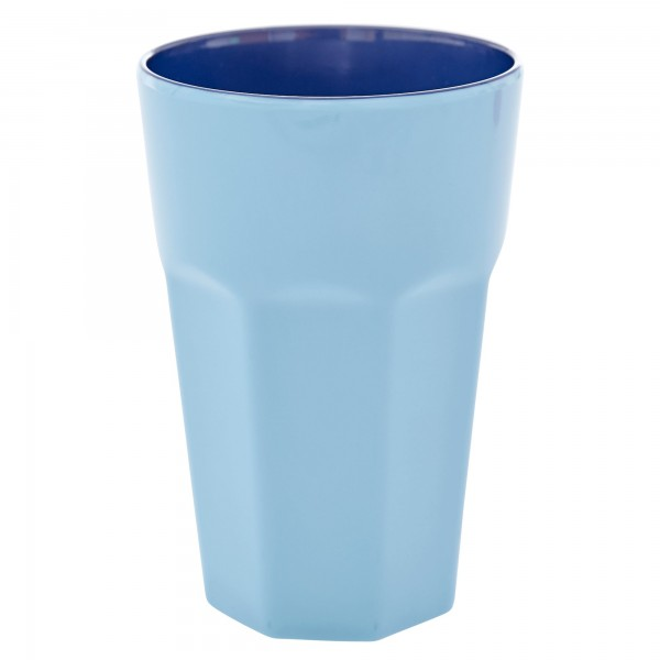 RICE Melamin Becher BLUE Tall