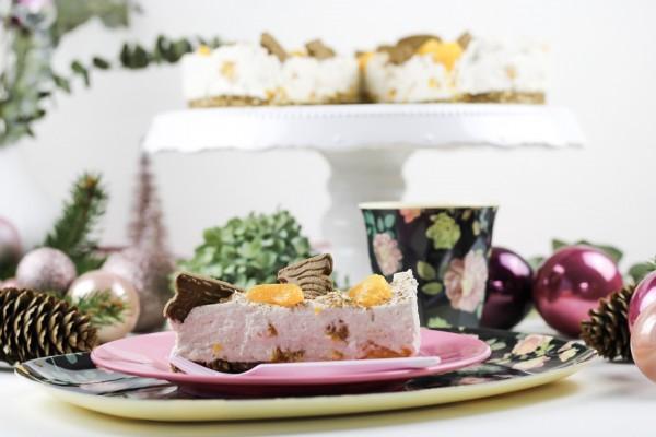 No-Bake-Mandarinen-Spekulatius-Torte
