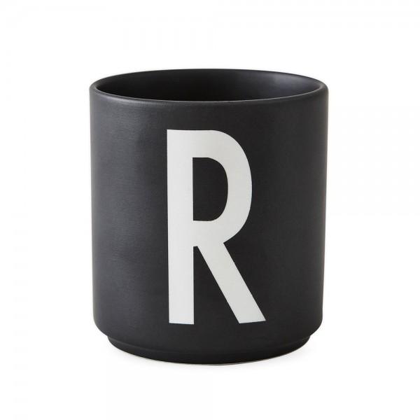 Design Letters Porzellanbecher schwarz R