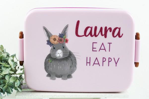 Personalisierte RICE Lunchbox FARM ANIMALS