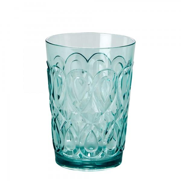 RICE Acryl Trinkglas MINT