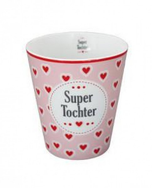 Krasilnikoff Happy Mug Super Tochter