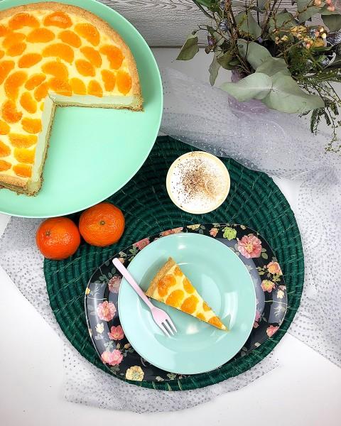 Mandarinen-Schmandkuchen