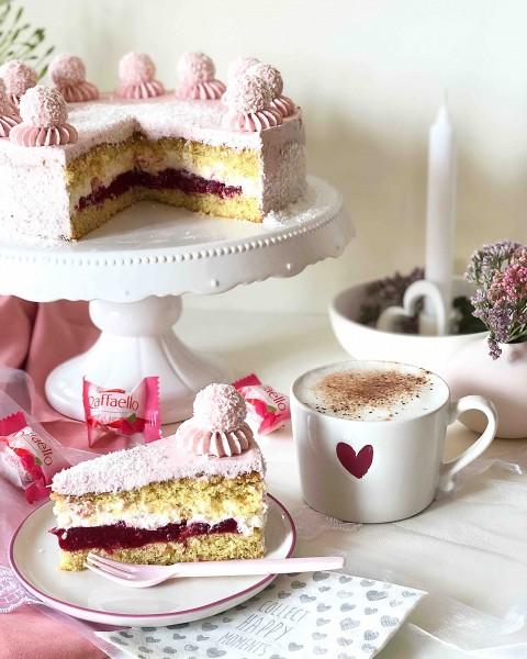 Raffaelo-Himbeere-Torte