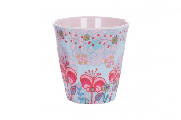 OVERBECK AND FRIENDS Melamin Becher LILLY-ROSE2 Medium