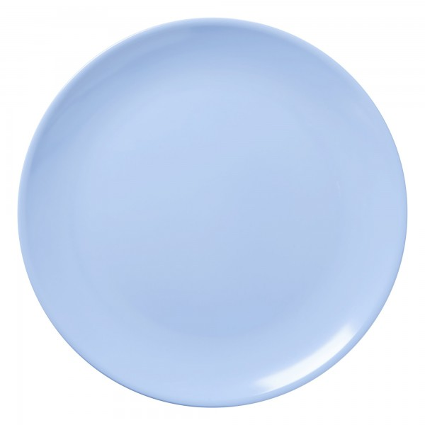 RICE Melamin Platte Soft Blue Ø 32 cm