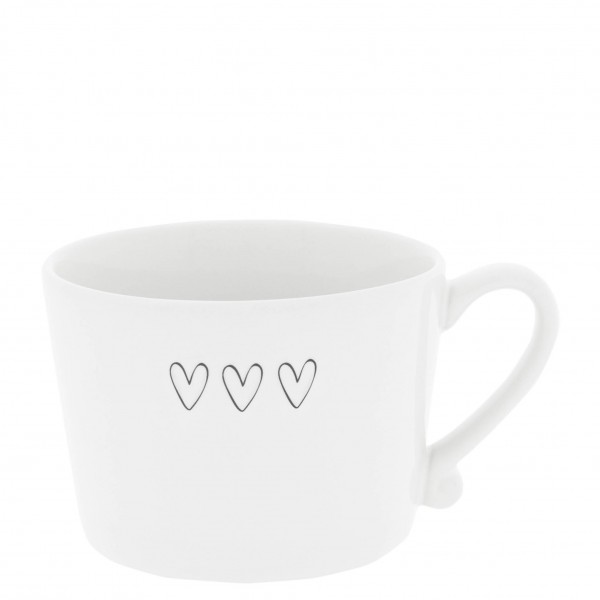 Bastion Collections Tasse 3 HEARTS