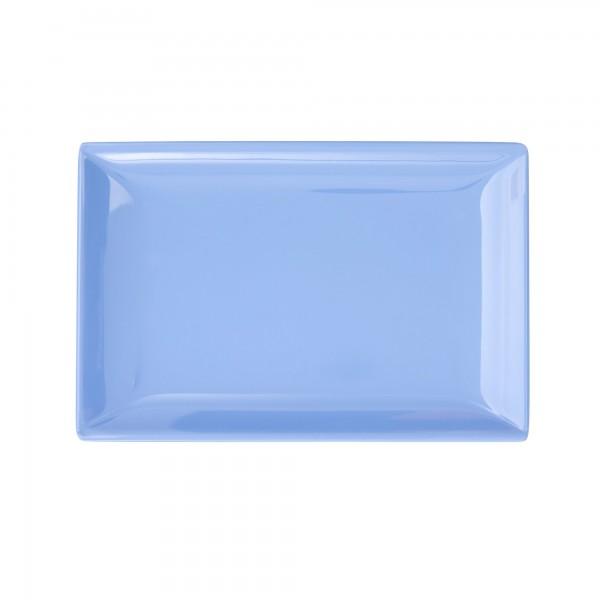 RICE Melamin Sushi Tablett BLUE Rectangular